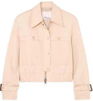 3.1 Phillip Lim Coated Stretch Cotton-blend Canvas Jacket