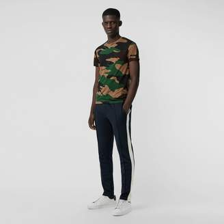 Burberry Camouflage Print Cotton T-shirt