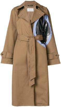 Maison Margiela patch trench coat