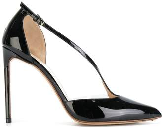 Francesco Russo buckle-strap stiletto pumps
