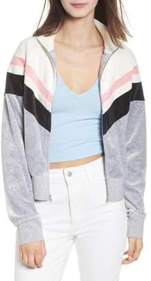 Juicy Couture Palisade Colorblock Velour Jacket