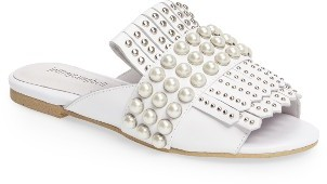 Women's Jeffrey Campbell Talley Embellished Loafer Mule $149.95 thestylecure.com