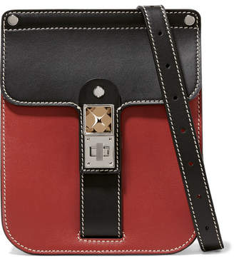 7110f264813e Proenza Schouler Ps11 Box Two-tone Leather Shoulder Bag - Brick