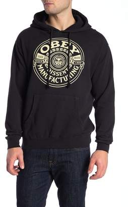 Obey Dissent Manufacturing Wreath Hoodie