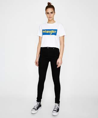 Wrangler Vintage Crop T-shirt White