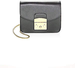 Furla Women's Metropolis Mini Leather Crossbody Bag