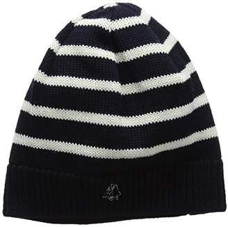 Petit Bateau Boy's Bonnet Smo/Co6/8A Hat,7 (Size: 6/8 6/8Ans)
