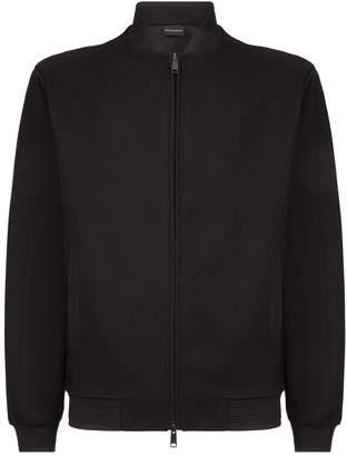 Emporio Armani Zip-Up Sweater