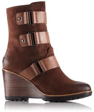 Sorel Womens After Hours Suede Bootie