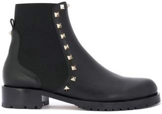 Valentino Rockstud Beatle boots