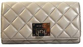 Michael Kors Astrid Caryall Clutch Quilted Leather