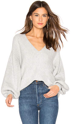 1 STATE Bubble Sleeve Sweater