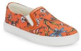 Sam Edelman Pixie Floral-Print Slip-On Sneakers