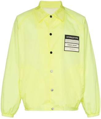 Maison Margiela 'Stereotype' patch shirt jacket