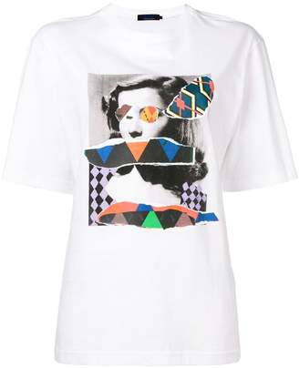 Sjyp loose graphic T-shirt