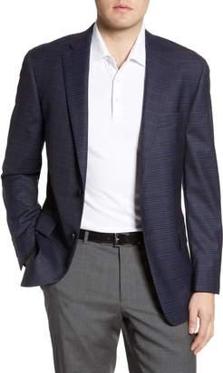 Hart Schaffner Marx Classic Fit Stretch Check Wool Sport Coat