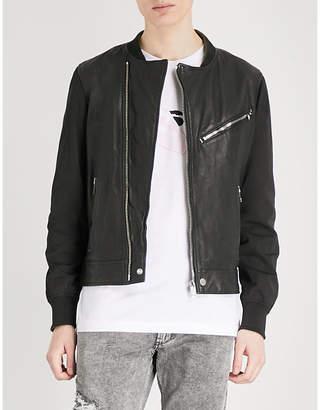 Diesel Ltombstone leather jacket