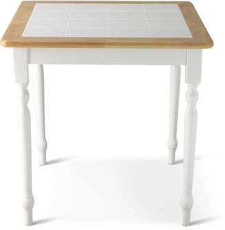 Asstd National Brand Willow 29 Square Dining Table with Tile Top