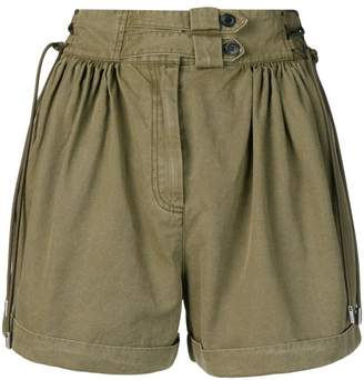 Diesel Black Gold pleated wide shorts