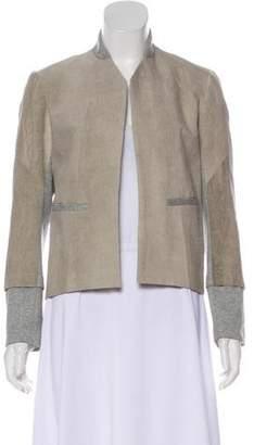 VPL Long Sleeve Linen-Blend Jacket w/ Tags