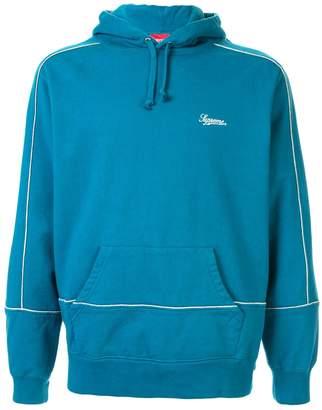 Supreme piping hoodie