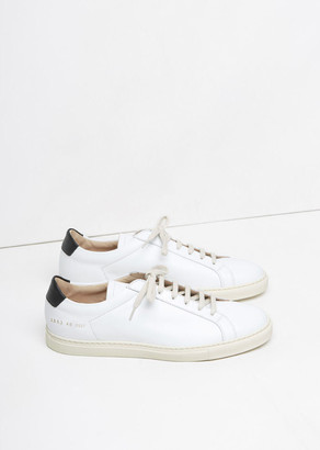 Woman By Common Projects Retro Achilles Low Sneaker $438 thestylecure.com