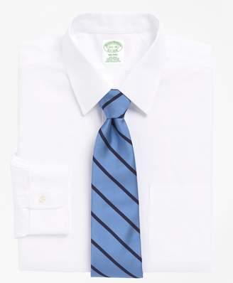 Brooks Brothers Milano Slim-Fit Dress Shirt, Non-Iron Point Collar
