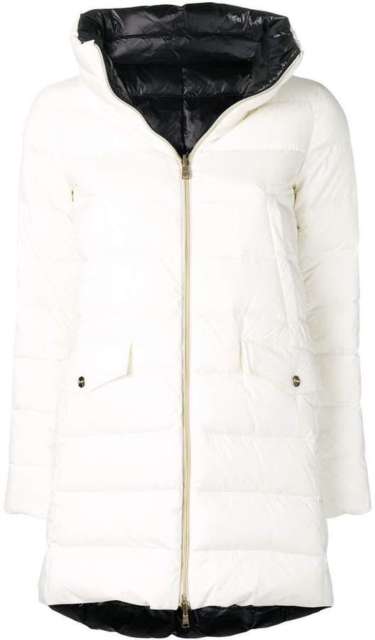 reversible padded coat