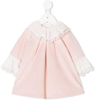 Patachou lace trim dress