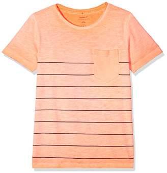 Name It Boy's Nkmjan Ss Top T-Shirt (Shocking Orange), (Manufacturer Size: -152)