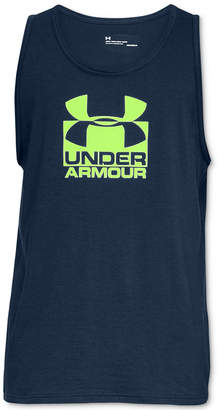 Under Armour Men's Charged Cotton Logo Tank Top