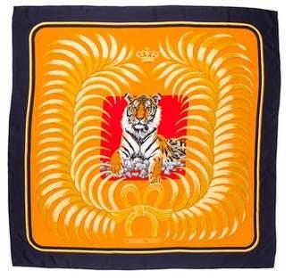 Hermes Tigre Royal Silk Shawl