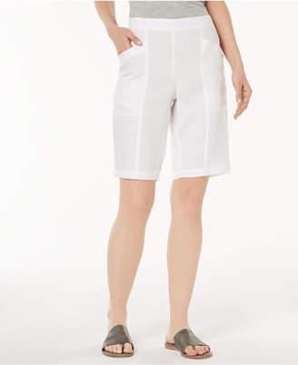 Eileen Fisher Organic Linen Shorts