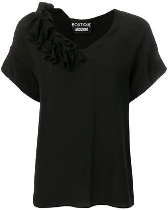 Moschino frilled blouse