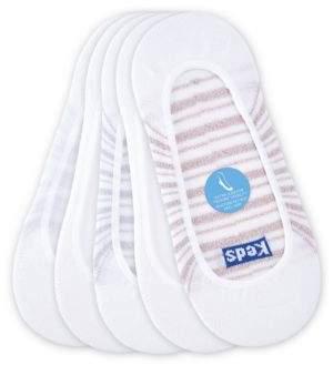 Keds Five-Pack Striped Liner Socks