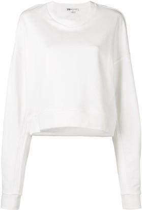 Y-3 oversized logo sweatshirt