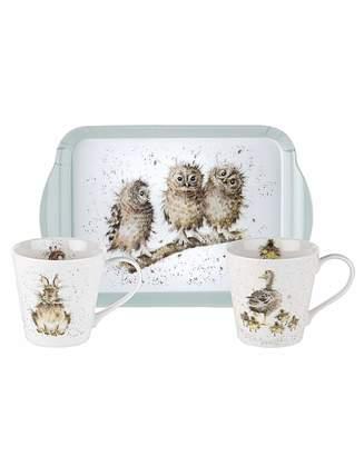 Portmeirion Wrendale Designs Mug & Tray Set
