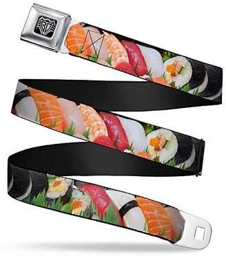 Buckle-Down Unisex-Adults Seatbelt Belt Sushi XL