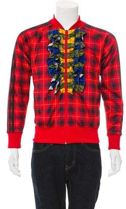 Jeremy Scott x Adidas Tartan Track Jacket w/ Tags