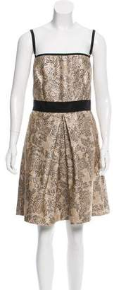 Dolce & Gabbana Jacquard Cocktail Dress w/ Tags