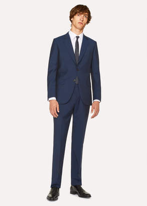 Paul Smith The Mayfair - Men's Classic-Fit Navy Wool-Mohair Suit