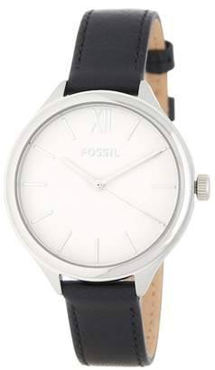 Fossil Men's Suitor Leather Strap Watch, 36mm