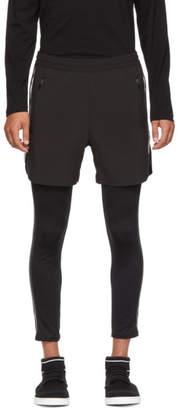 BLACKBARRETT by NEIL BARRETT Black Classic Stripe Running Shorts