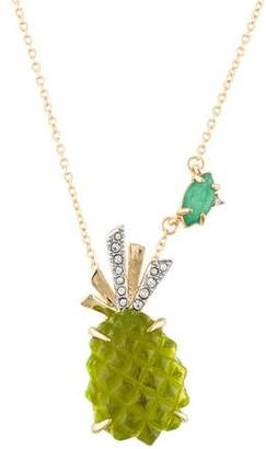 Alexis Bittar Pineapple Pendant Necklace