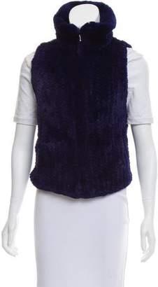 Trilogy Rabbit Fur Vest