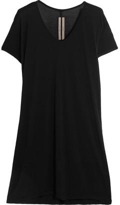 Rick Owens - Jersey T-shirt - Black $360 thestylecure.com
