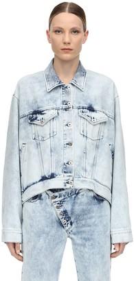 Marques Almeida Oversize Cotton Denim Jacket