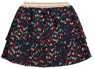 Bellerose Sale - Linted Pleated Print Skirt