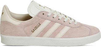 Adidas Gazelle low-top suede trainers $79 thestylecure.com