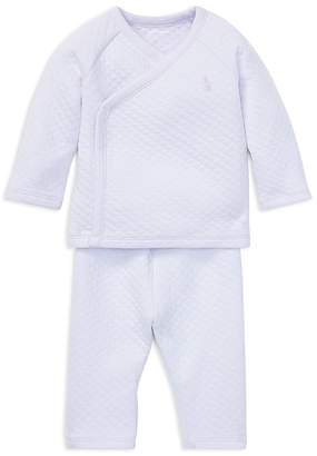 Polo Ralph Lauren Ralph Lauren Girls' Quilted Kimono Top & Pants Set - Baby